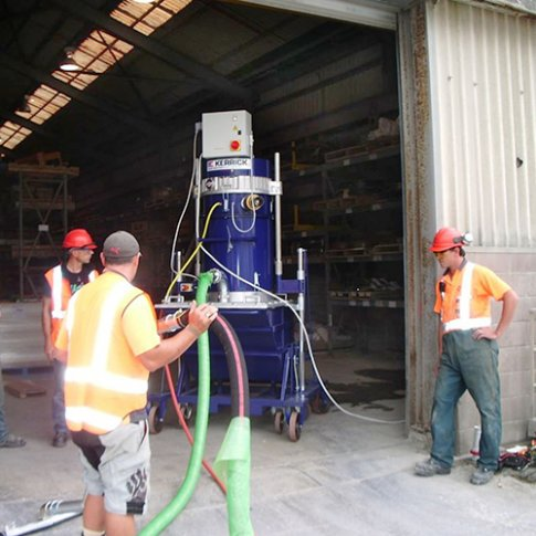 Osh and filtration requirements kerrick industrial equipment for Cleaning concrete dust