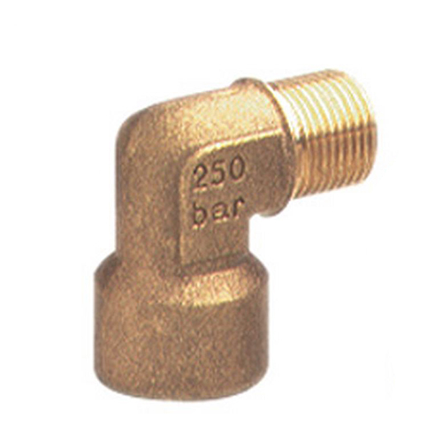 Brass Elbow 3/8M 1/4F